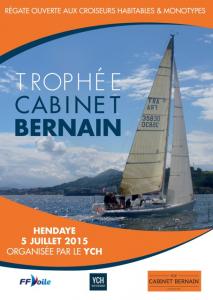 Affiche Tro`phée Bernain