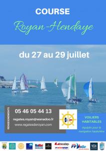 Régate Royan-Hendaye @ Baie de Royan